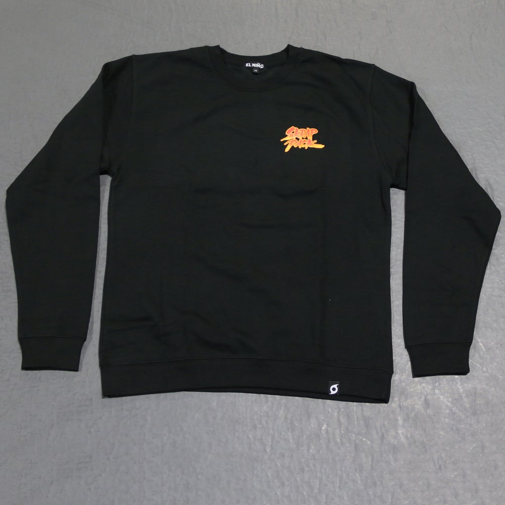 Image of Skrap Pack Crewneck Sweatshirt (Black/Multi)