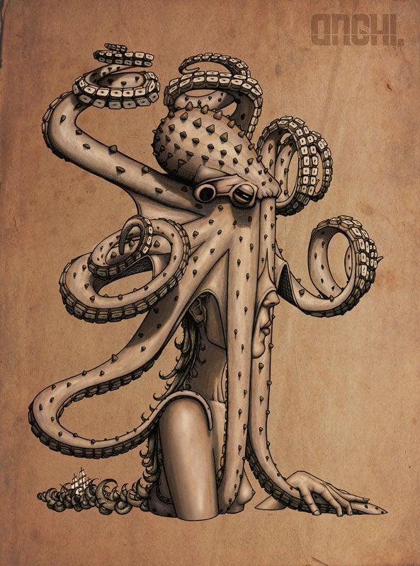 Image of Lady Hydra.