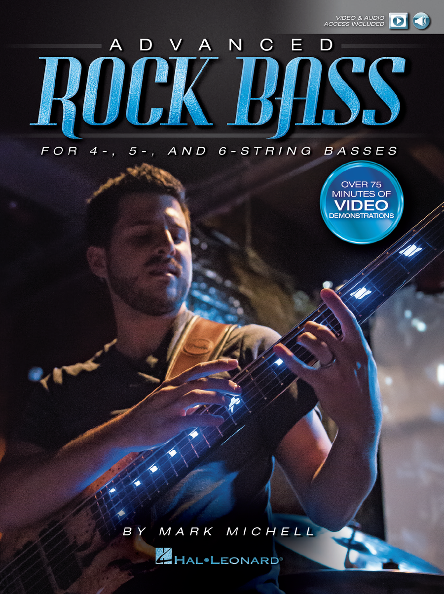 "Image of Hal Leonard: ""Advanced Rock Bass"" • DVD/Book"