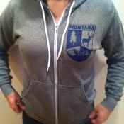 Image of Zip-up Hoodie: Montana Crest