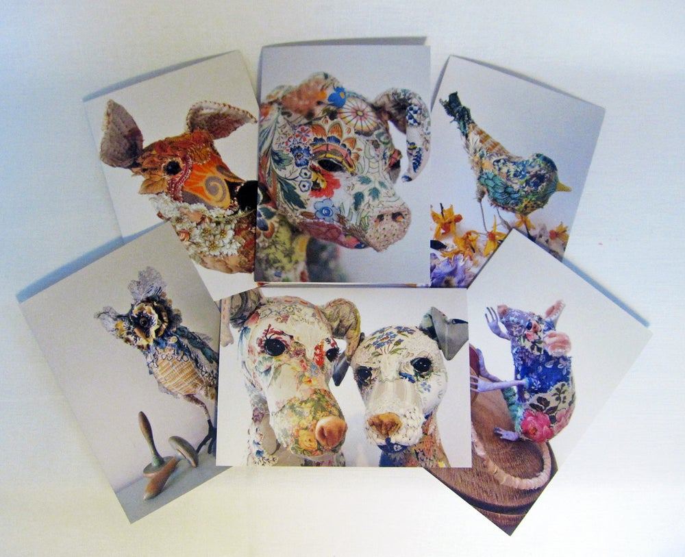 Image of Set of 6 Greetings cards