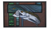 Image of Striking Distance. Original Tarpon Painting