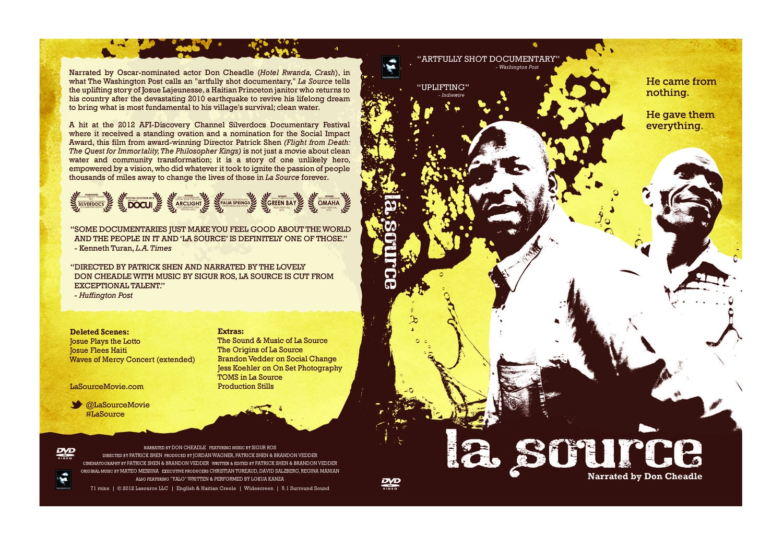 Image of La Source DVD