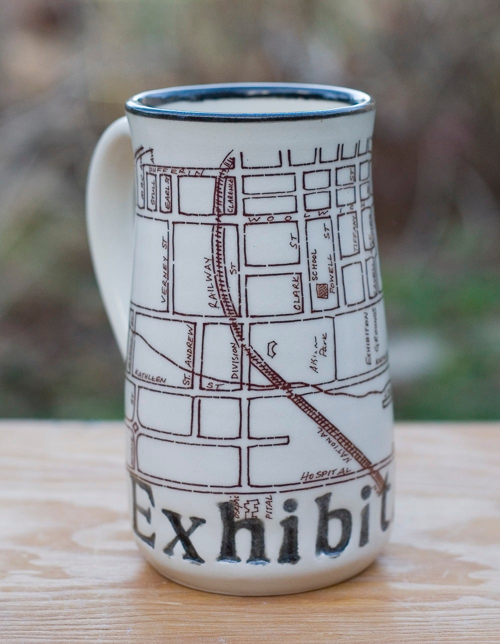 Image of Guelph Inspired 'Exhibition' Park Mug by Bunny Safari