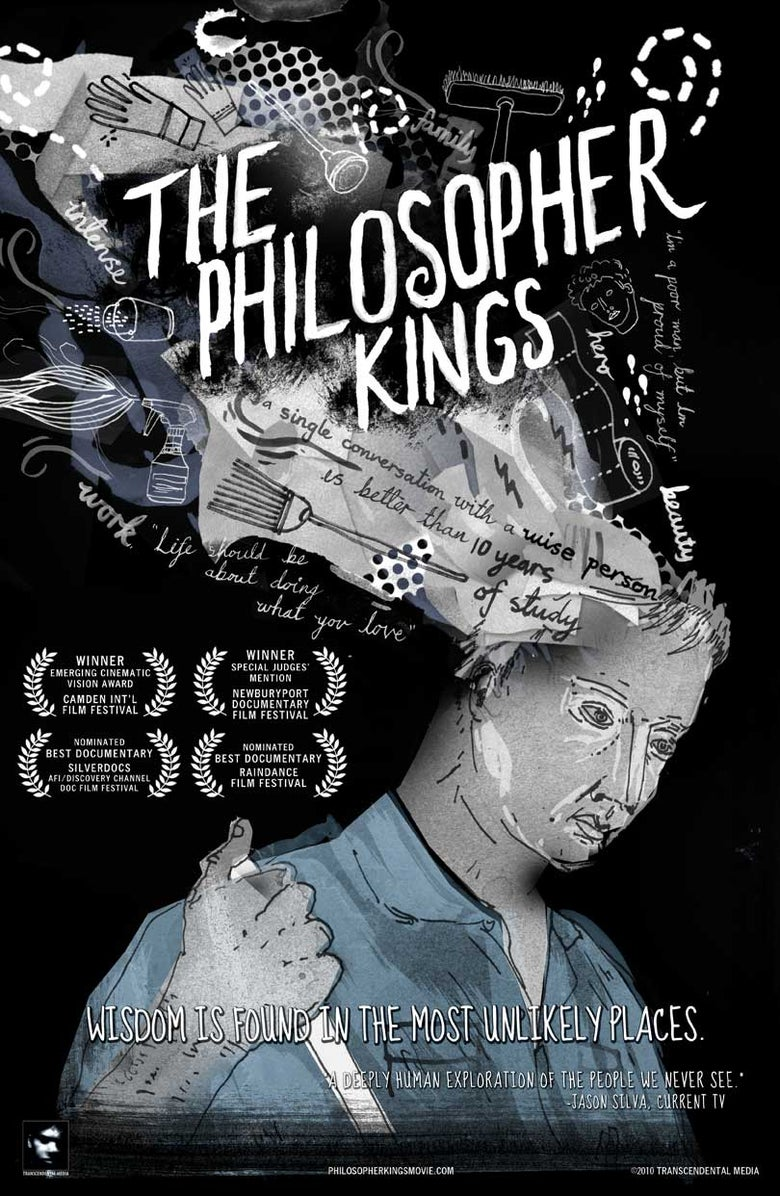 Image of The Philosopher Kings - 11x17 Poster by James Gulliver Hancock
