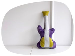 Image of Coussin Guitare