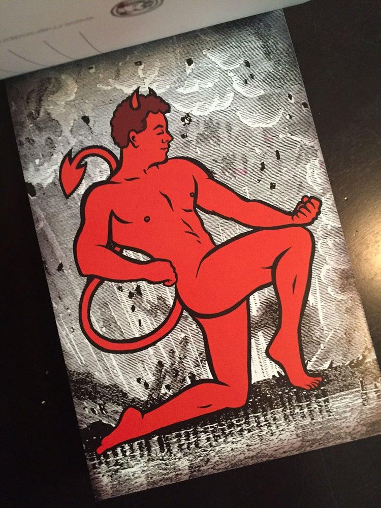 Image of Devil Babe's Big Book of Postcards!
