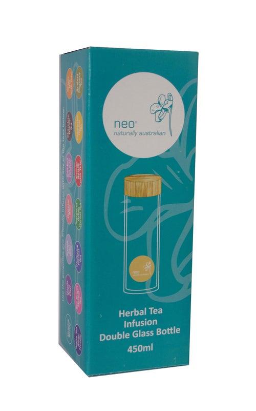 Image of Neo Tea Infusion Double Glass Bottle 450ml