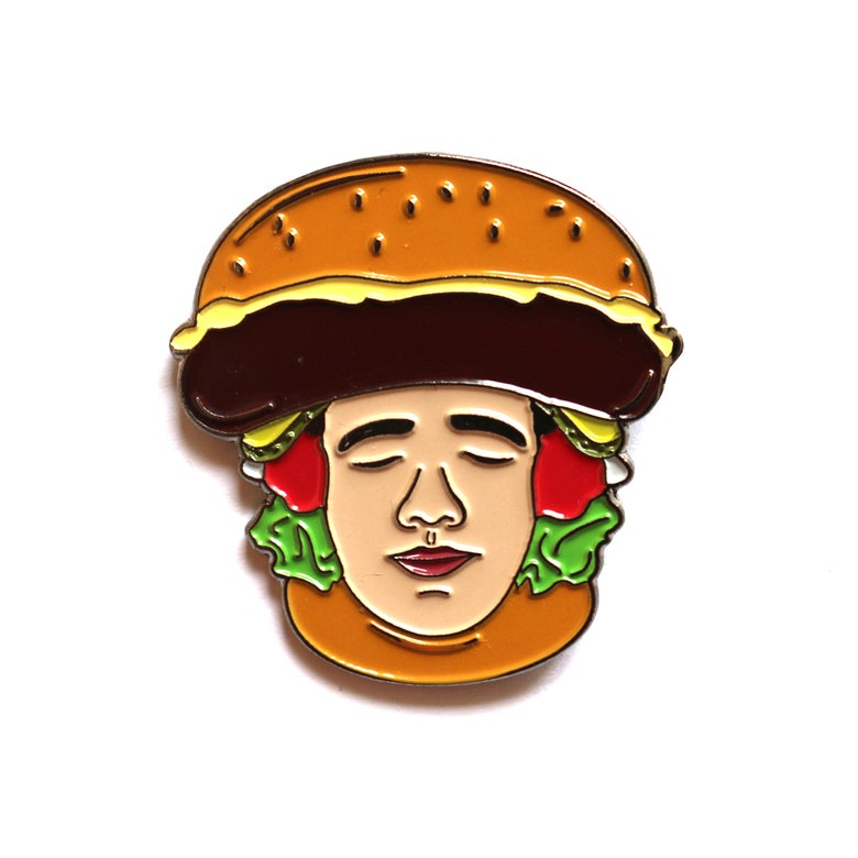 Image of ChiliPhilly Pin Series #1: Burger Hat