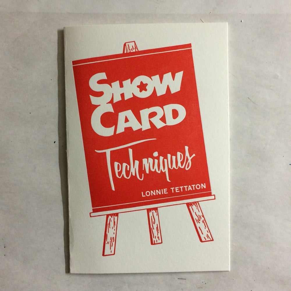 Image of Show Card Techniques by Lonnie Tettaton