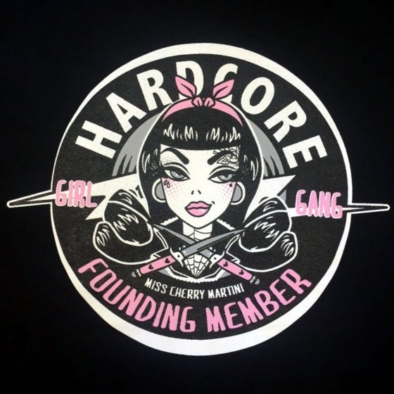 Image of Hardcore Girl Gang Ladies T-Shirt.