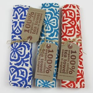 Image of Moroccan Tile Tea Towel