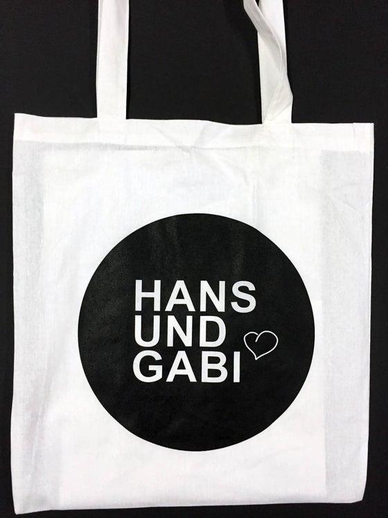 Image of Hans und Gabi Stoffbeutel weiß