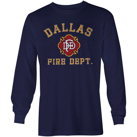 Image of DFD Old School - NAVY L/S