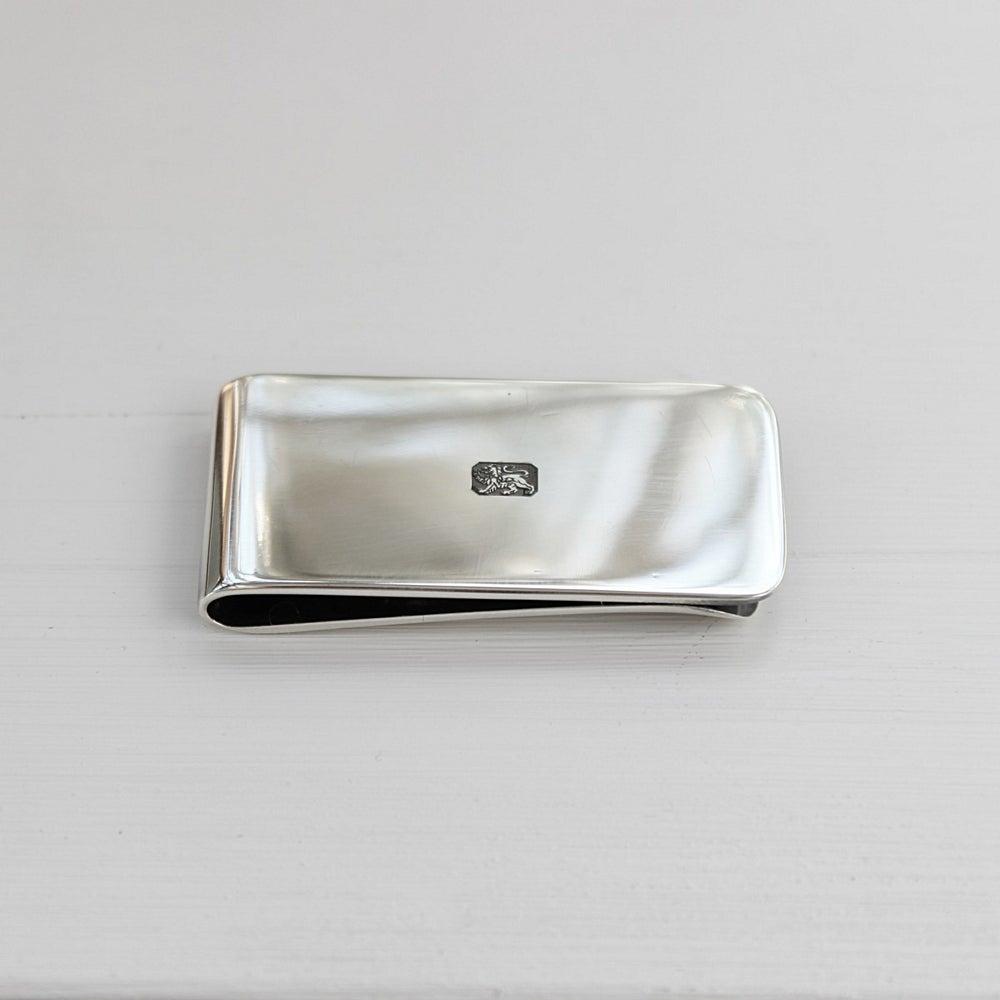 Image of men's silver money clip