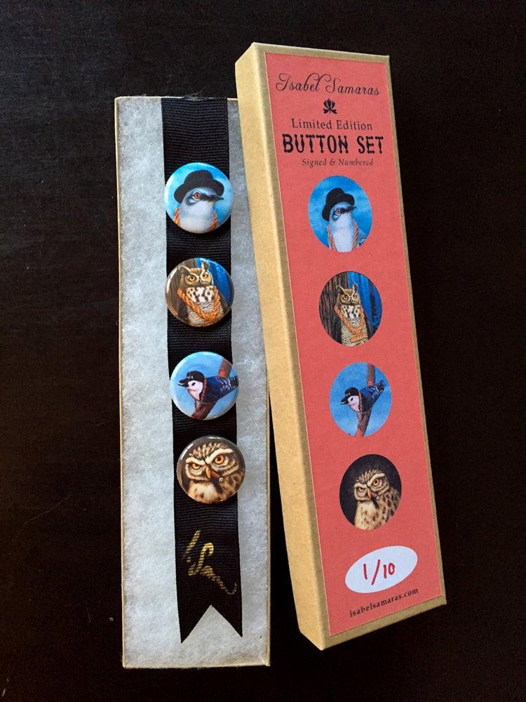 "Image of ""Da Boids"" Limited Edition Button Set"