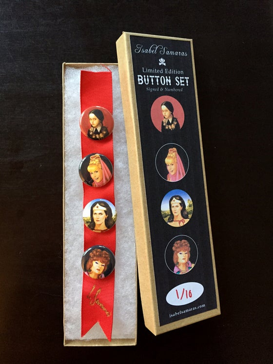 """Image of """"The Ladies"""" Limited Edition Button Set"""