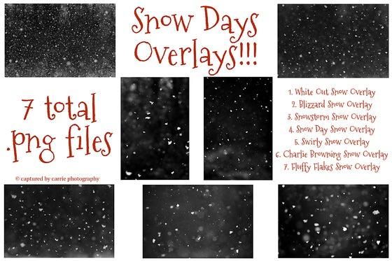 Image of Snow Days Overlays