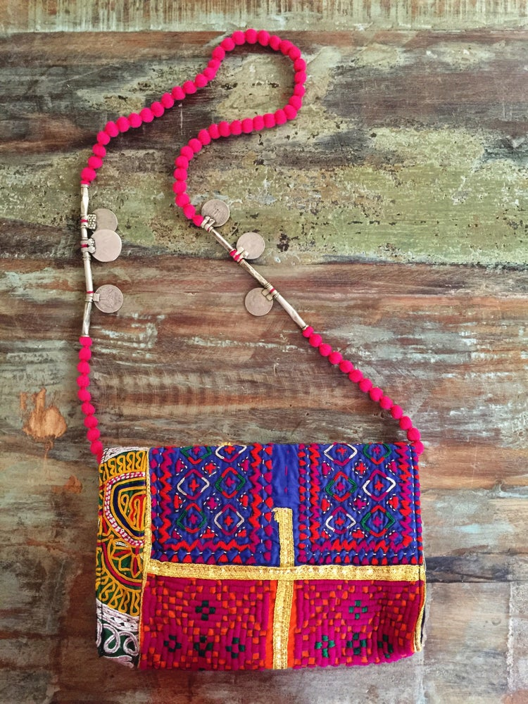 Image of tribal festival sling bag #5