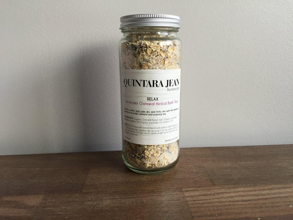Image of RELAX: Oatmeal & Lavender Herbal Bath Tea