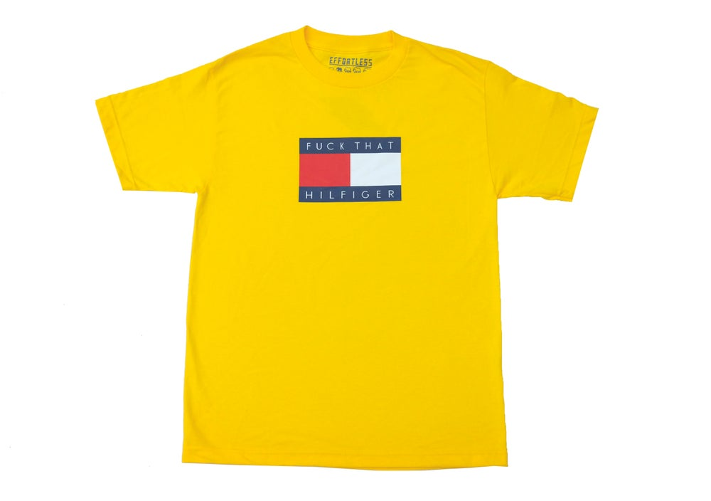 "Image of ""Ghetto Star"" Tee (Yellow)"