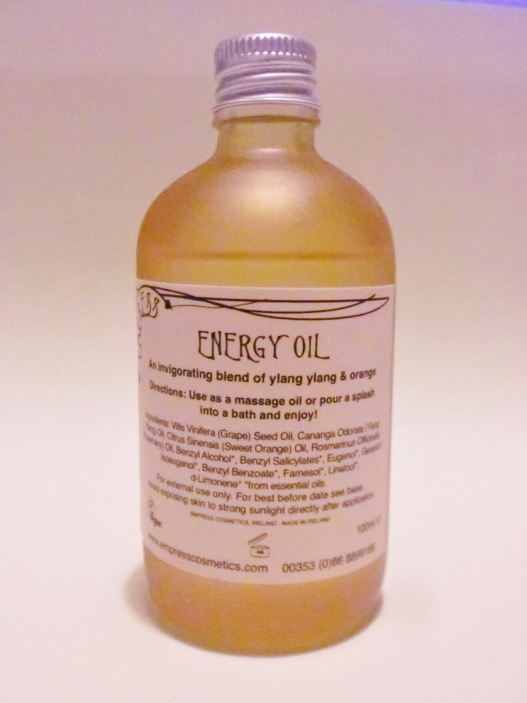 Image of ENERGY Massage & Bath Oil
