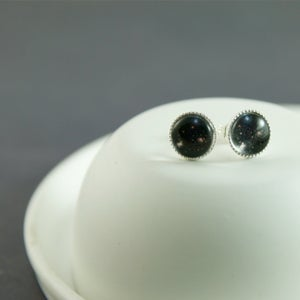 Image of In A Galaxy Far Far Away - Sterling Silver Star Studs