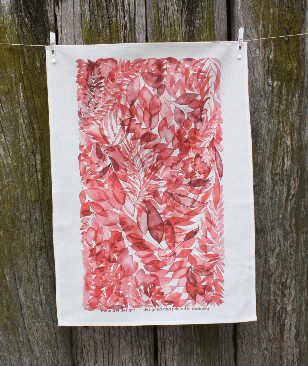Image of Lucindale Printed Tea Towel