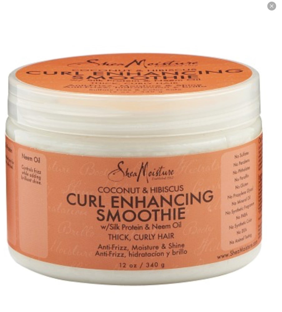 Image of Shea Moisture coconut & hibiscus smoothie