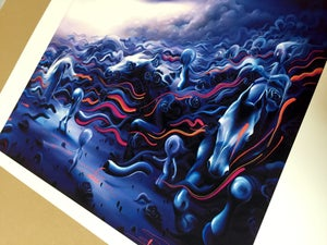 Image of Pa Sapa 1874 Hand Embellished Print by Michael Page