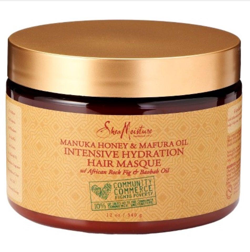 Image of Manukau Honey & Mafura Oil Intensive Hydration Hair Masque