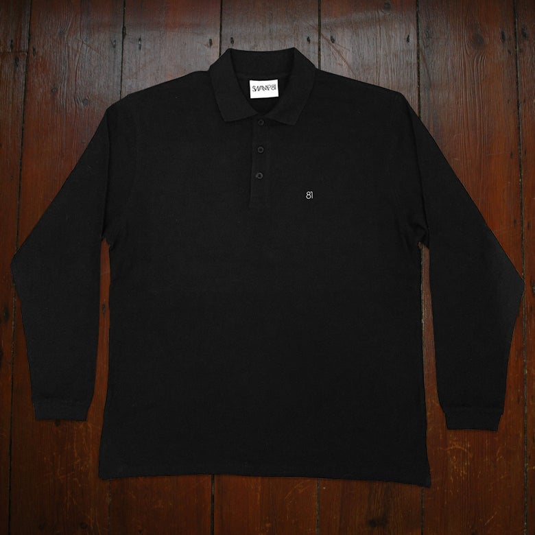 Image of 81 STAFF POLO BLACK