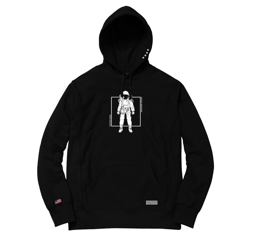 Image of Moon Landing Hooded Sweatshirt