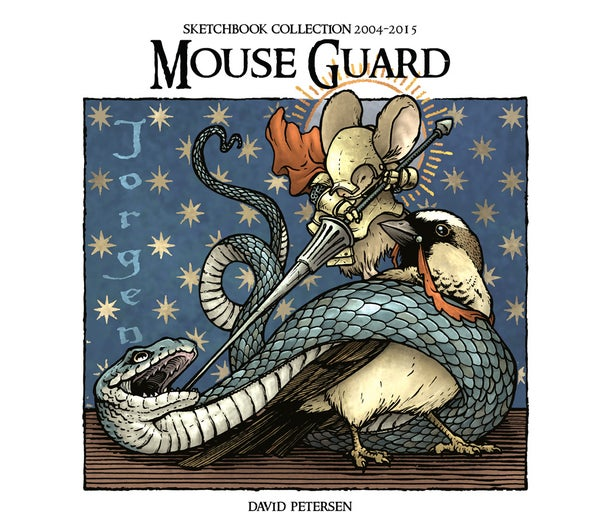 Image of Mouse Guard Digital Sketchbook Collection 2004-2015
