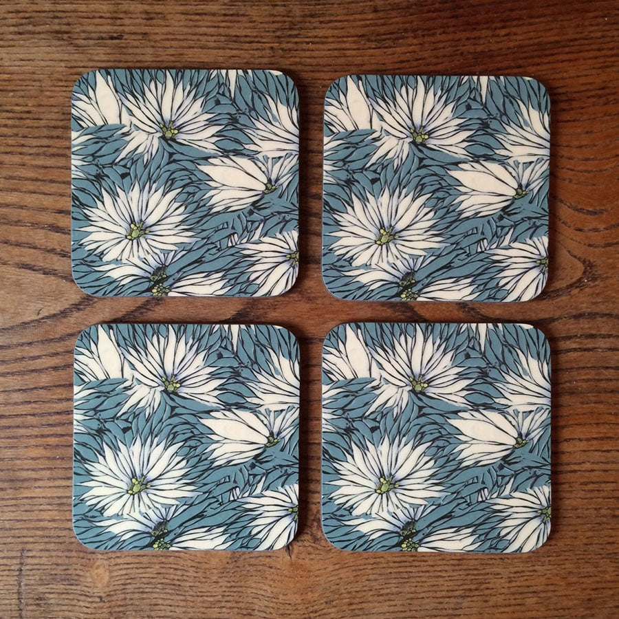 Image of Coasters - Love In A Mist