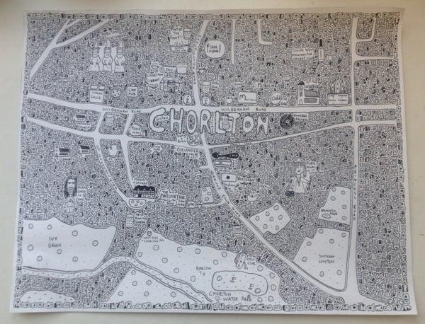 Image of Chorlton Doodle Map