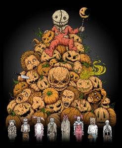 Image of 'King of Halloween: SAM!' print