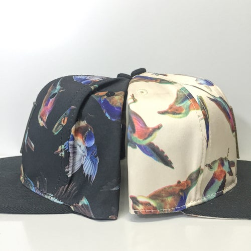 "Image of ""The Aviary"" Printed Snapback Hat - 2 Styles"