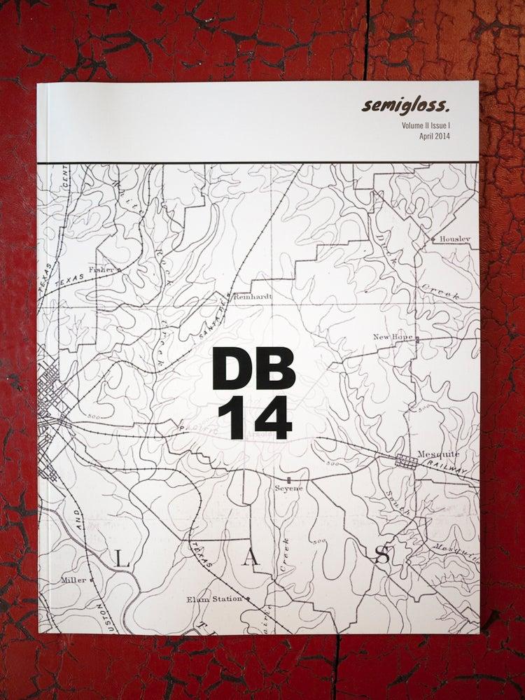 Image of semigloss. Magazine - DB14, Vol. 2 Issue 1