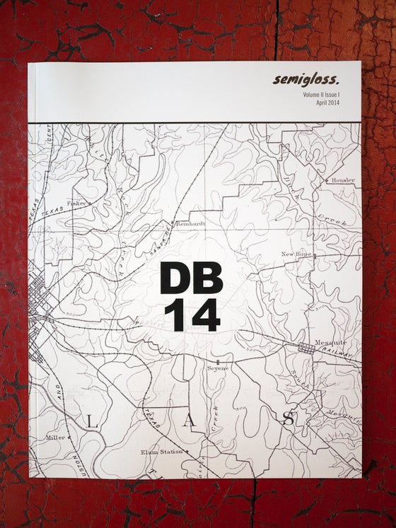 Image of semigloss. Magazine - DB14, Vol. 2 Issue 1