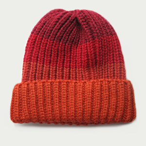 Image of  'VRONSKY' HAT [ORANGE/RED]