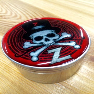 Image of Red & Silver ZOLTRON HERB GRINDER®