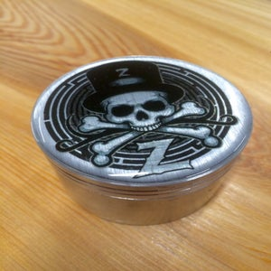 Image of Silver & Black ZOLTRON HERB GRINDER®