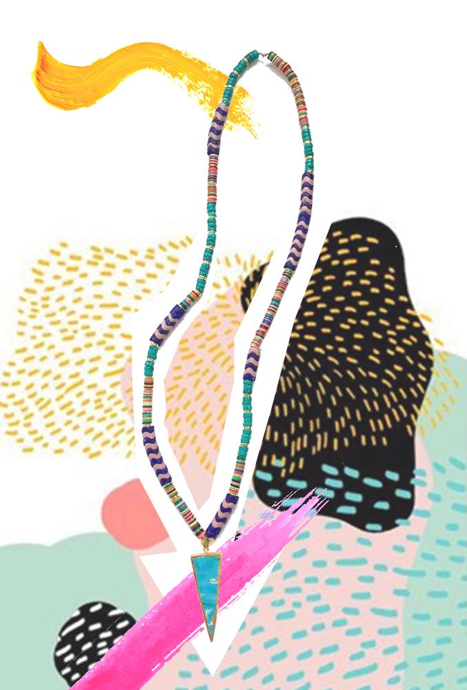 Image of Citali Turquoise Pendant