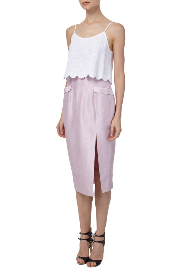 Juniper Cropped Top $195 - Melissa Bui