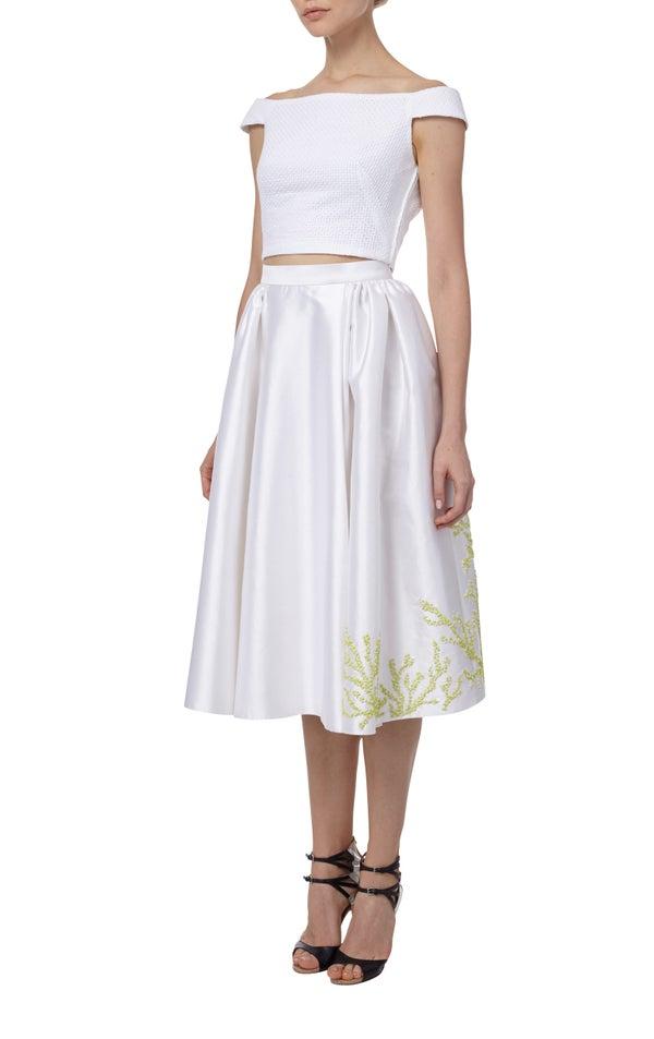 Geranium Skirt $1205 - Melissa Bui