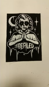 Image of Praying girl Backpatch