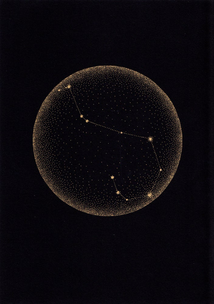 Image of Zodiac Star Constellation - A4 print