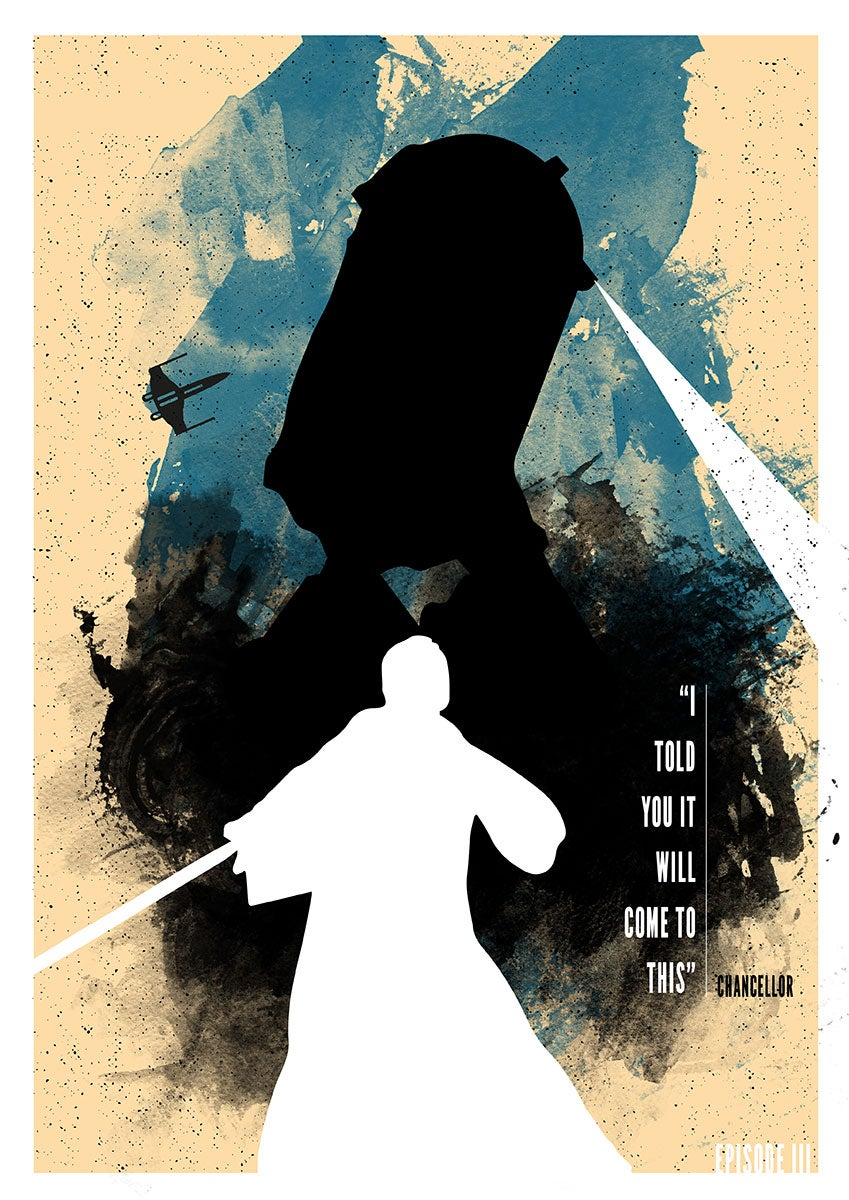 Image of Star Wars - Episode Three Poster