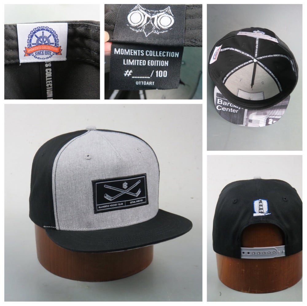 Image of MOMENTS COLLECTION FLAT BRIM SNAPBACK- #4 IN A SERIES- THE MOVE